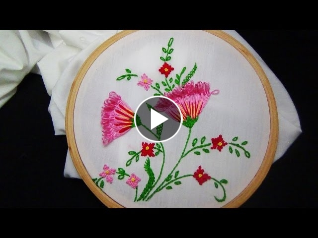 Hand Embroidery Loop Stitch