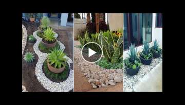 39 Creative Rock Garden Landscaping Ideas On a Budget | diy garden