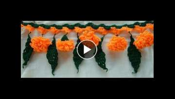 Beautiful Handmade Crochet DOOR HANGING Toran