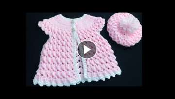 Crochet Baby Sweater Vest and Crochet Baby Hat Set EASY NB to 6yrs, How to crochet, Crochet for B...