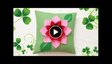 DIY: Easy Handmade Cushion Cover Design