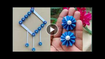 Amazing and Attractive Paper Flower Wall Hanging / Diy Paper flower wall hanging