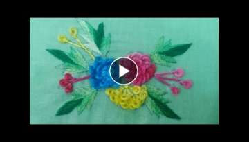 Hand Embroidery: Gobhi Phool/cabbage flower Part-2