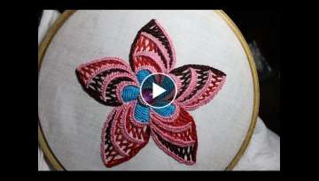 Hand Embroidery Designs | Design for cushion cover | Stitch and Flower-95