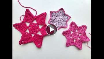 Advent Calendar * December 23, 2012 * Crochet Star