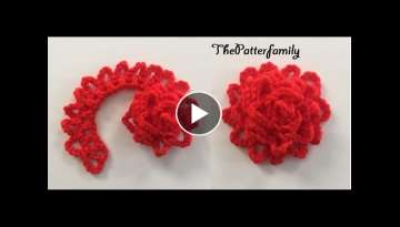 How to Crochet a Flower Pattern