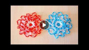 A flower made of solomon loops - Author's master class
