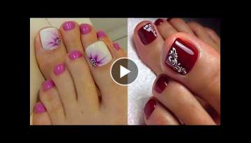 TOP 48 TOE NAIL ART DESIGNS COMPILATION YOU NEED TO TRY