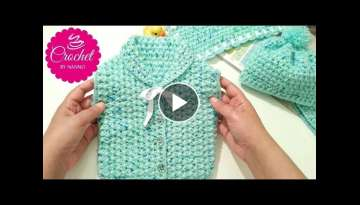 Crochet a Vest for beginners