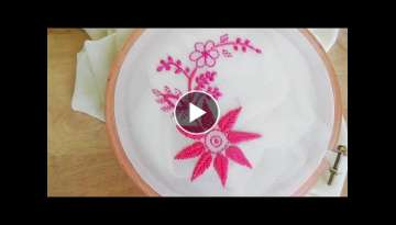 Hand Embroidery: Chicken Kari embroidery