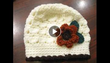 Cluster Stitch Beanie REVISED - Crochet Tutorial