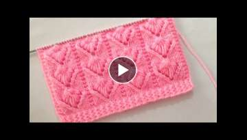 Beautiful Knitting Stitch Pattern For Gents/Ladies Sweater