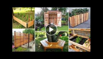 100 DIY Wood Projects for Garden YOU CAN START NOW | DIY Garden