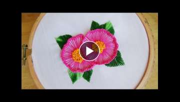 Hand Embroidery: Ruffle button hole stitch