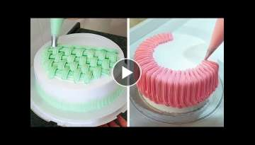 How to Make Cake Decorating for Holidays | Most Satisfying Cake Decorating Ideas | So Easy Cake