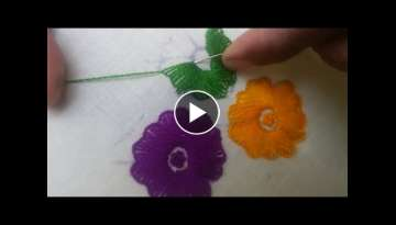 Hand Embroidery: Kaaj Tankka/ Cause stitch Part-2