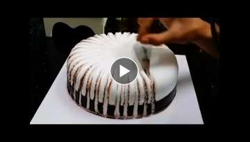 Birthday Cake Design Tutorial! Cake Decorating