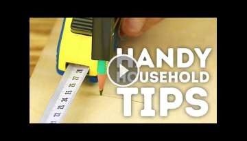 Handy household tips to make DIY much EASIER! l 5-MINUTE CRAFTS