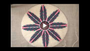 How to Knit a Thaalposh/ Table Mat(Design No.3)|Hindi