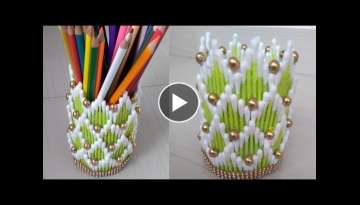 Cotton buds craft | Best reuse idea