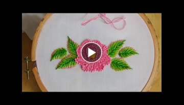 Hand Embroidery: Flower stitch