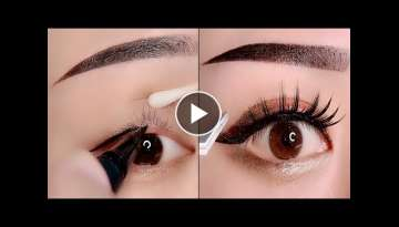 Eye Makeup Natural Tutorial Compilation