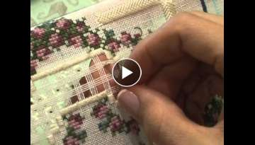 Woven Bars and Picot