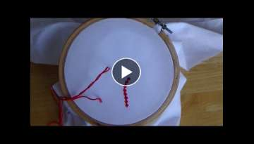 Hand Embroidery: Bead Stitch