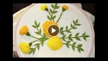 Hand Embroidery Designs | Stump work | Stitch and Flower-120