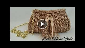 TUTORIAL: Bolsa Clutch (Croche)