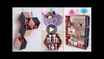 9 Genius Home Organization Ideas- Best Out of Waste Handmade Things