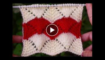 ZIG-ZAG | SCALLOPED KNITTING PATTERN
