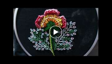 Hand embroidery designs - Hand embroidery stitches tutorial, embroidery for dresses, ghagras