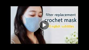 crochet mask tutorial
