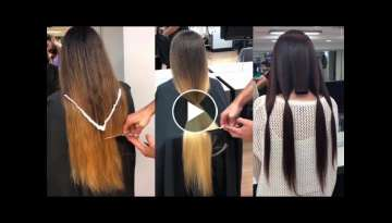 Increibles Cortes de Cabello largo a Corto / Best Haircuts Transformation 2018