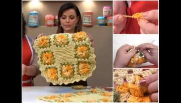 Crochet Flower Carpet Tutorial