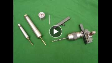 Make A Quick Change Tool Post Chuck Mount Plus Lathe Batch Work