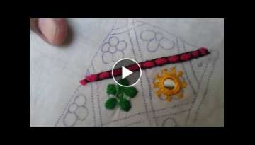 Hand Embroidery: Dorri design/Cut design part-2