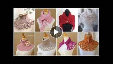 82 trending & demanding crochet scarf neck warmer designs for women's