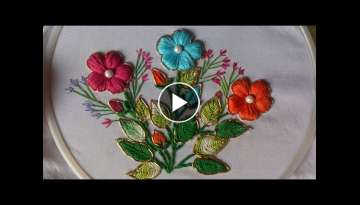 Hand embroidery designs - Fancy embroidery stitches