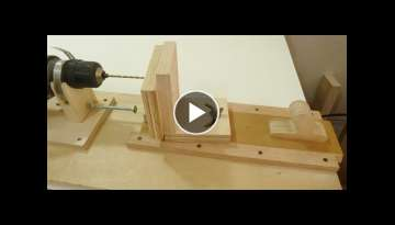Making a horizontal and angle drill mini lathe