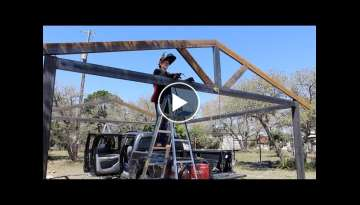 Building a Metal Carport - Part 1