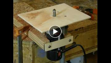 Trim Router Tables for Small Work
