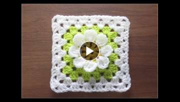 How to Crochet Motif / Crochet and Knitting Japan