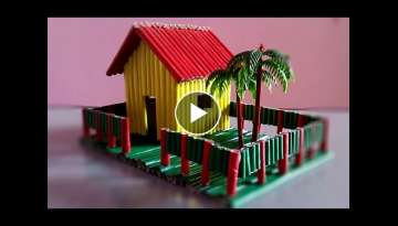 how to make a paper house very easy