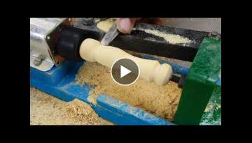 How to Make a Mini LATHE MACHINE at Home (Very Easy)