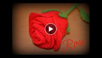 Tutorial rosa de ganchillo || Ganchillo o crochet.