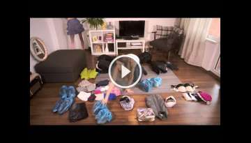Try With Ina - еp. 18 - How to pack family wardrobe for a week in 2 backpacks
