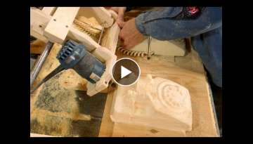 Copy carving a rotary phone