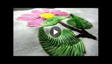 Hand Embroidery Flowers Stitch by Diy Stitching - 10